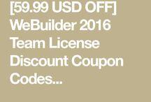 WeBuilder 2016 Team License
