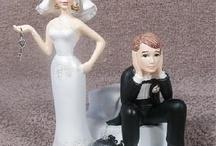 Noivos / Ideias incomuns para noivos de bolo