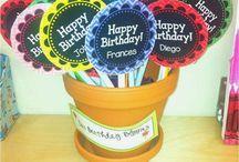 Birthdays / Craft Ideas