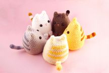 Little ideas / Small crochet crafts for some extra money and Christmas fair ideas