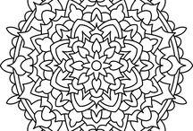 Pinturas / Folhas para colorir