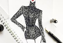fashion art insiration
