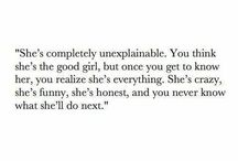 Quotes - She's Different