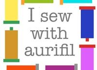 #Aurifilled / Let share your lovely artworks made using #Aurifil threads . Let ask me to contribute at alexveronelli@me.com / by Alex Veronelli