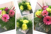 Kwiaty w pudełkach / box z kwiatami / Kwiaty w pudełkach / box z kwiatami