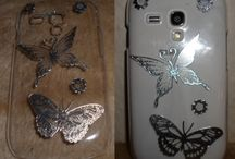 Cell phone covers / Cell phone covers that I made