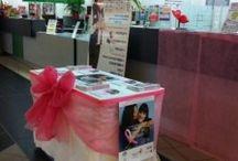 Campagna Nastro Rosa / Alcune immagini relative alle diverse iniziative della Campagna Nastro Rosa 2013