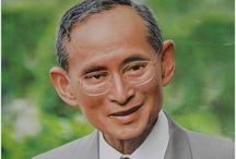 Thai King and family / Thajský kral a rodina