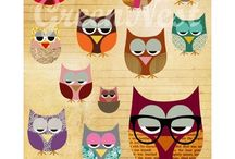 Owls  / by Linda McCullough