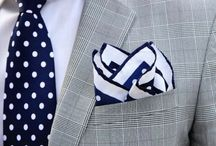 Men's Suits/Ties/Pocket Squares/Shoes - Formal, Classic, Smart-Casual... A guide to effortless style.