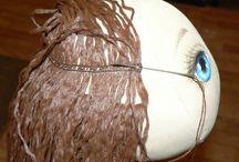 cabelos de boneca