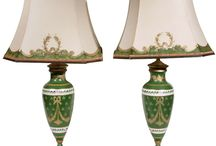 FRENCH LIMOGES LAMPS / OLD WORLD CHARME