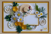 Quilled cards / by Lisa D