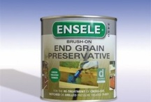 End grain preservatives / For whenever you cross cut pressure treated timber