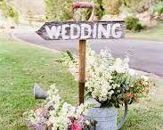 spring style wedding