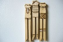 clothespins & magnets / by Cynthia Coffey