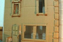 Cardboard Structures / For Dioramas