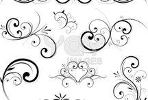 Flourish & Swirls