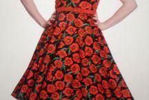 Rockabilly dresses / Pin up vintage, rockabilly, voluptuous, romantic, feminine, sexy
