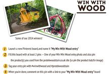 Win With Wood 2015 / Here is a selection of some of the wonderful entries to this years Win with Wood competition.