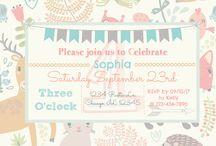 RainbowBabiesPrints Invitations and Prints