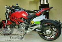 Ducati Monster 696 Modification