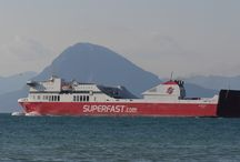 Superfast ferries in all its corners