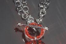 Hoopla Basketball Necklace