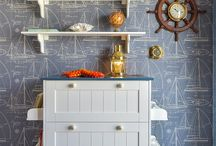 Boys nautical room