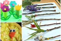 Spring Toddler and Baby Activities