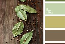 Color scheme - Green, brown