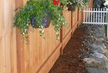 Privacy Fence ideas / A fence adds privacy from neighbor and improves a security while giving your landscape a aesthetic look.