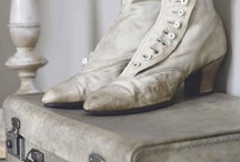 Victorian boots decor