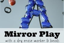 mirror play / reflection adds a whole new dimension