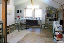 atelier / werkstatt lager