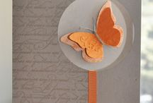Butterfly cards / by Bev Slaunwhite