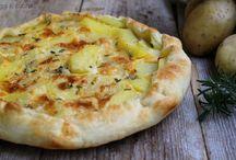 torta salata Brie e  patate