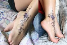 thinking about a foot tattoo