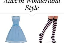 tory's alice outfit