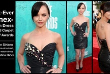 Christina Ricci in a Timex Watch Dress