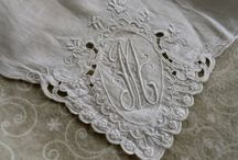 Sew Many Beautiful Things / Vintage linens and embroidery.