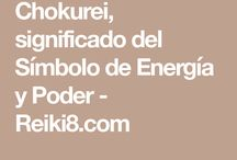 Reiki. Chokurei Energía y Poder