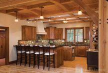 Log & Timber Frame Kitchens