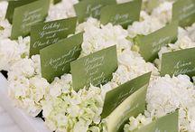 Wedding Escort Card Displays / Ideas and Inspirations for Escort Card Displays for your Wedding Guests