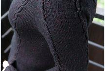 Inspirace - pletení / Co bych si ráda upletla - co se mi líbí