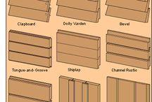 Wood Board Siding