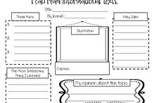 Education - Graphic Organizers / by Sheila Remmereid
