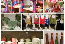 African Colour and Design / Hand made African fair trade crafts and products.