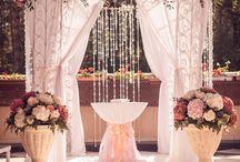 свадебная арка море