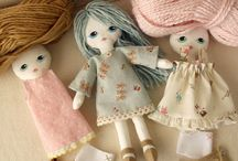 maravillosas muñecas de trapo / by Ana Maria Deniz Batista